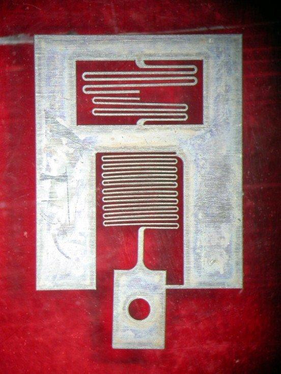 Micro G Force Sensor Precision Microfab