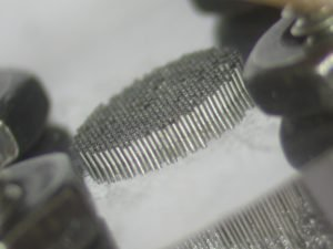 Quantum particle nozzle with 50 micron ID tubes