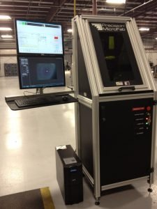 This system features a top of the line computer with the latest motion control software, applications specific custom motion controls, and a control arm with dual vertical mounted monitors.