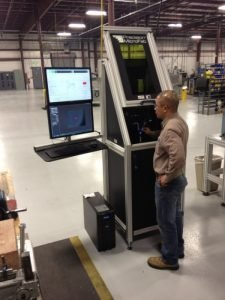 training on die drilling laser to increase production