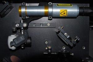 fiber laser inside Class IV Enclosure.